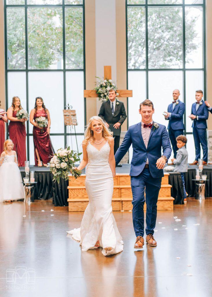The Bleckley Station Wedding ceremony