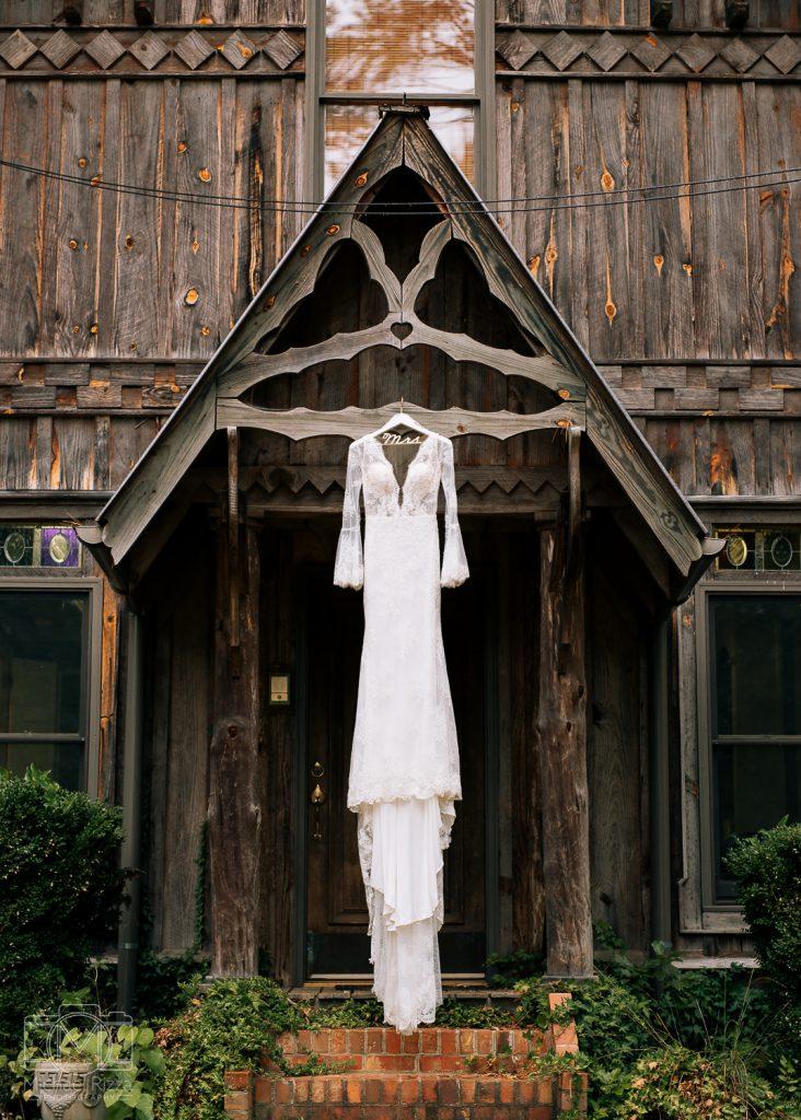 The Farm Rome GA Wedding dress