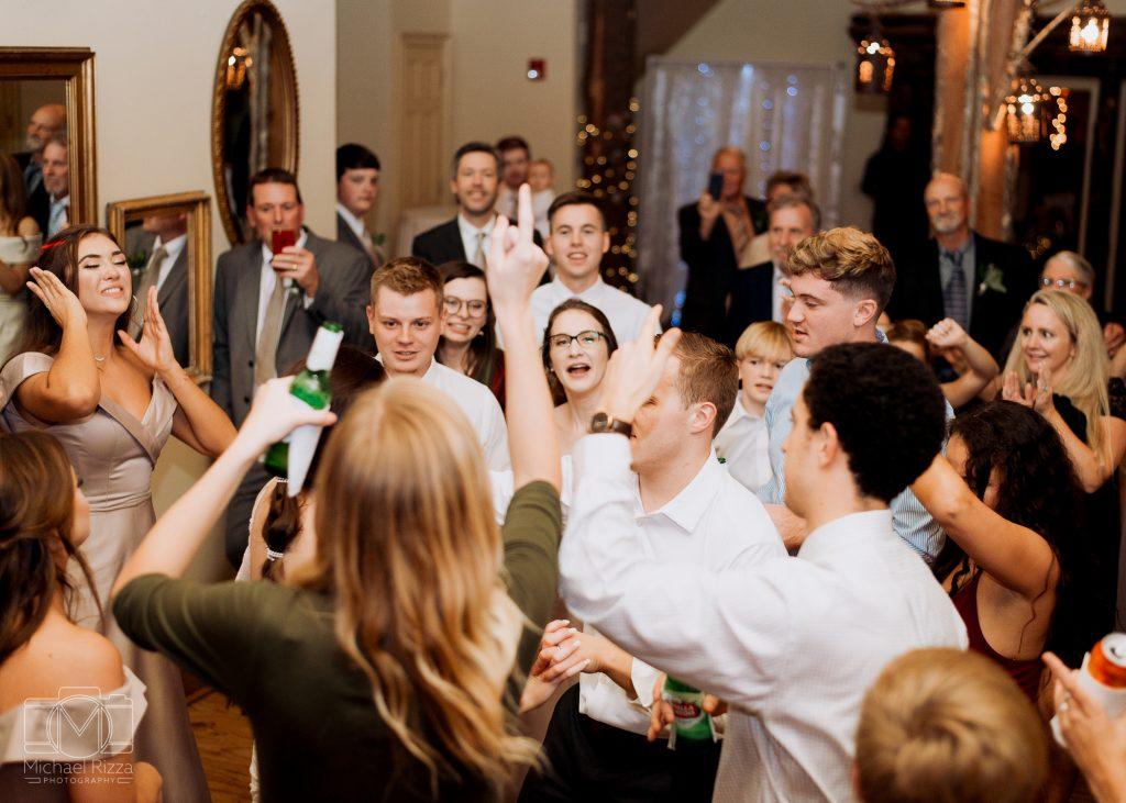 The Farm Rome GA Wedding reception