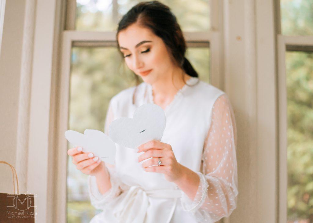 The Farm Rome GA Wedding letter